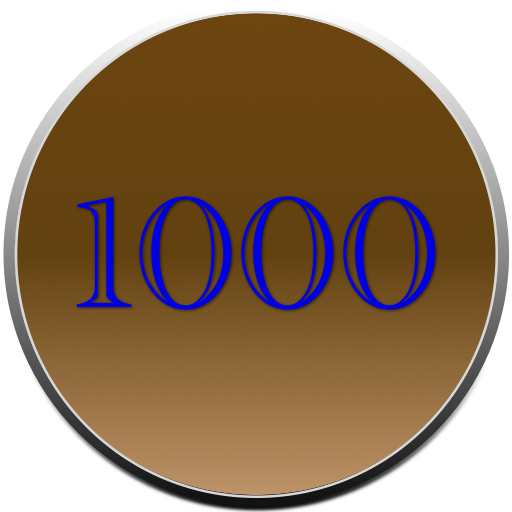 1000 Words logo